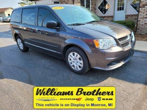 2016 Dodge Grand Caravan for sale at Williams Brothers - Pre-Owned Monroe in Monroe MI