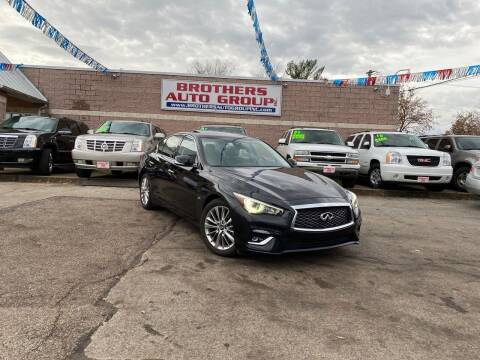 2019 Infiniti Q50 for sale at Brothers Auto Group in Youngstown OH