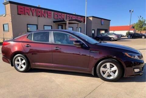 2014 Kia Optima for sale at Bryans Car Corner in Chickasha OK