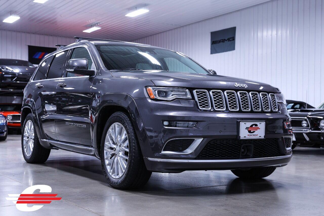 2018 Jeep Grand Cherokee Summit 4x4 4dr SUV
