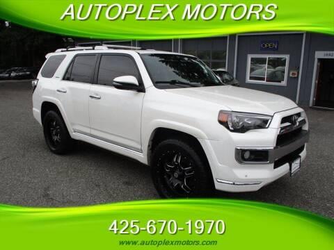 2014 Toyota 4Runner for sale at Autoplex Motors in Lynnwood WA