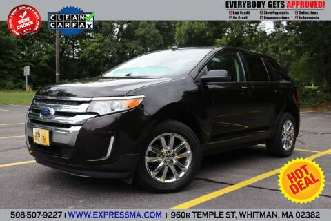 2013 Ford Edge for sale at Auto Sales Express in Whitman MA