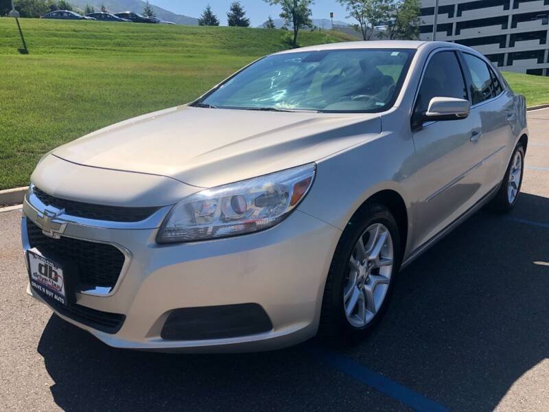 2015 Chevrolet Malibu for sale at DRIVE N BUY AUTO SALES in Ogden UT