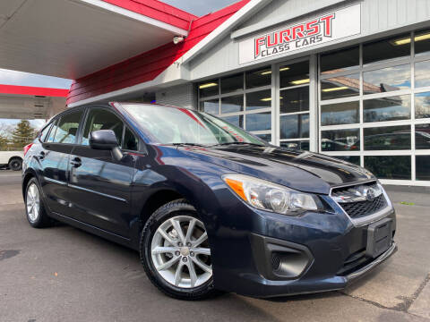 2014 Subaru Impreza for sale at Furrst Class Cars LLC in Charlotte NC