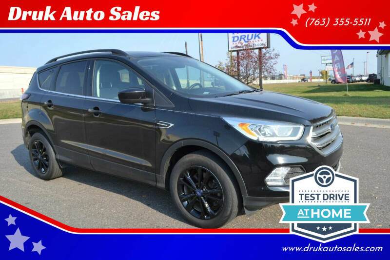 2017 Ford Escape for sale at Druk Auto Sales in Ramsey MN