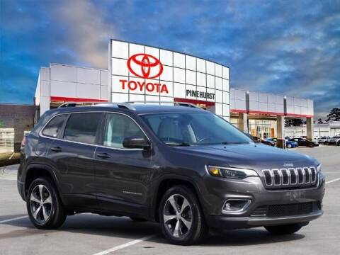 2019 Jeep Cherokee for sale at PHIL SMITH AUTOMOTIVE GROUP - Pinehurst Toyota Hyundai in Southern Pines NC