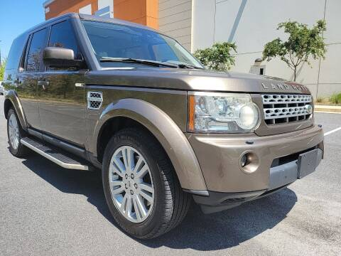 2011 Land Rover LR4 for sale at ELAN AUTOMOTIVE GROUP in Buford GA