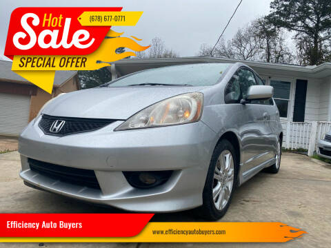 2011 Honda Fit for sale at Efficiency Auto Buyers in Milton GA