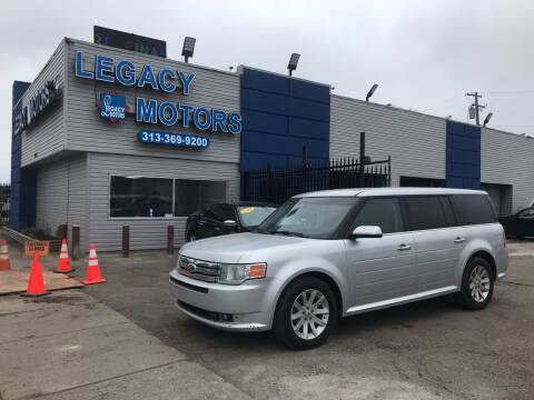 2012 Ford Flex for sale at Legacy Motors in Detroit MI