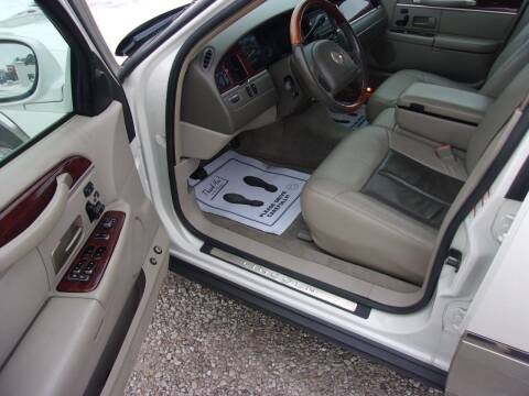2004 Lincoln Town Car for sale at Marty Hart's Auto Sales in Sturgis MI