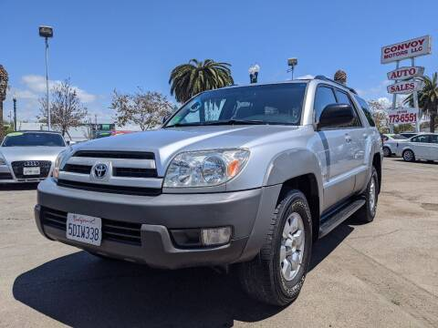 2003 Toyota 4Runner for sale at Convoy Motors LLC in National City CA