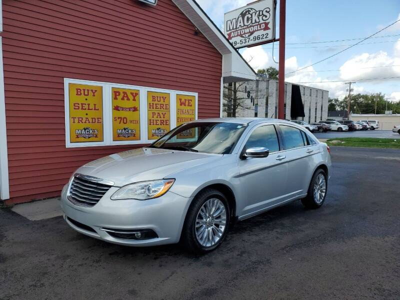 2012 Chrysler 200 for sale at Mack's Autoworld in Toledo OH