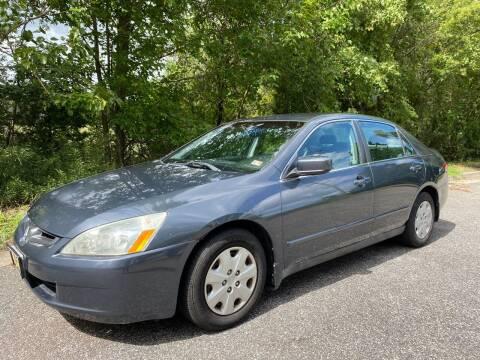 2003 Honda Accord for sale at Coastal Auto Sports in Chesapeake VA