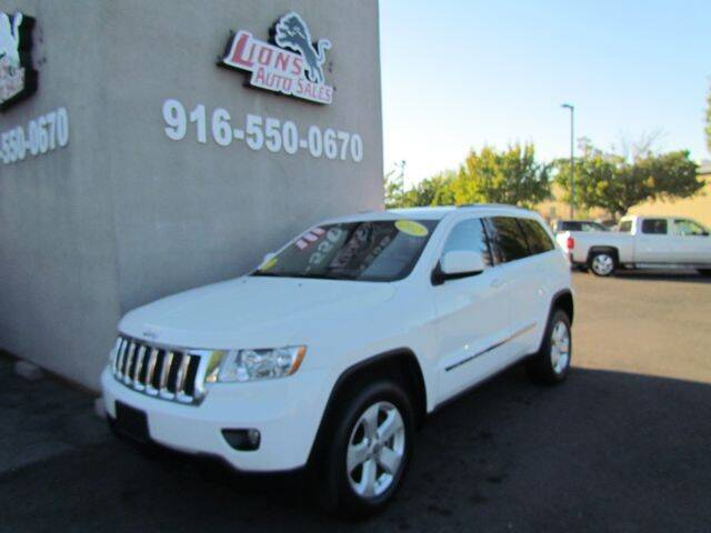 2012 Jeep Grand Cherokee for sale at LIONS AUTO SALES in Sacramento CA