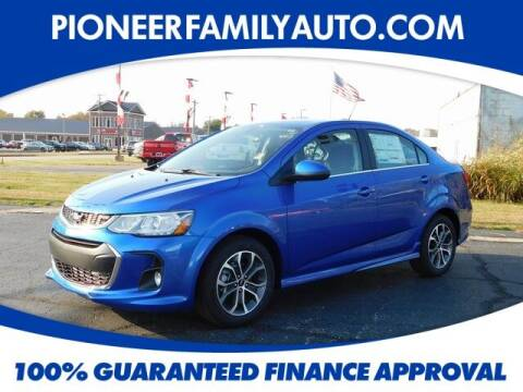 2020 Chevrolet Sonic for sale at Pioneer Family auto in Marietta OH