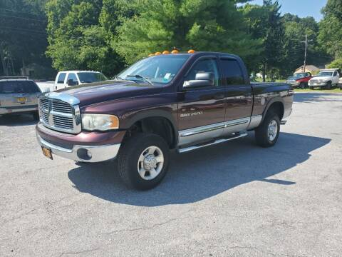 2004 Dodge Ram Pickup 2500 for sale at AUTOMAR in Cold Spring NY