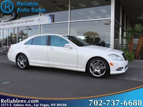 2011 Mercedes-Benz S-Class for sale at Reliable Auto Sales in Las Vegas NV