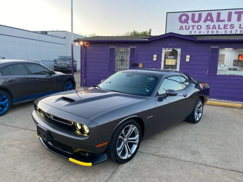 2021 Dodge Challenger for sale at Quality Auto Sales LLC in Garland TX