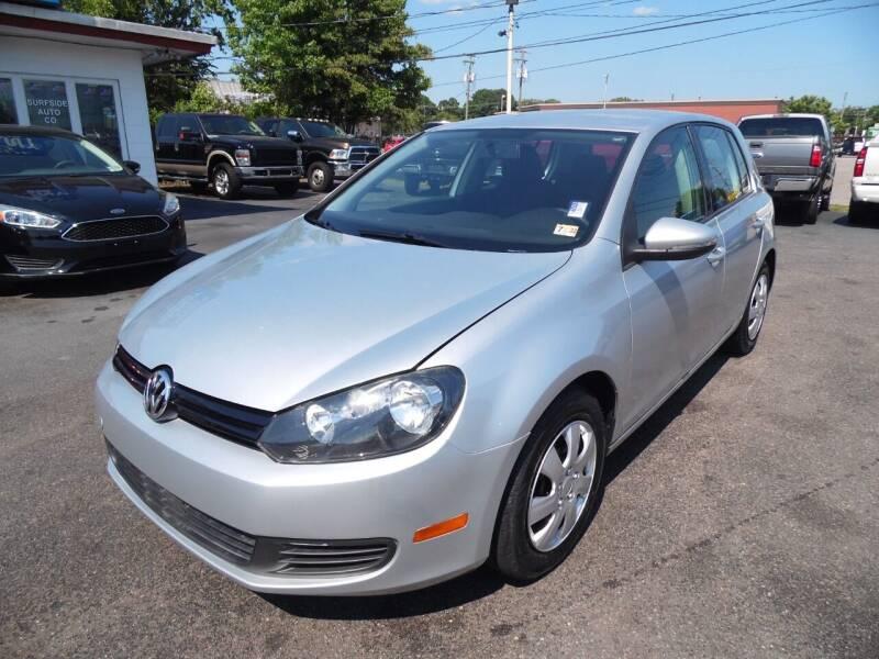 2013 Volkswagen Golf for sale at Surfside Auto Company in Norfolk VA