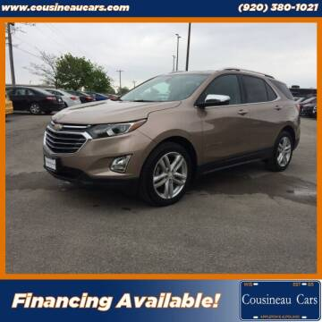 2018 Chevrolet Equinox for sale at CousineauCars.com in Appleton WI