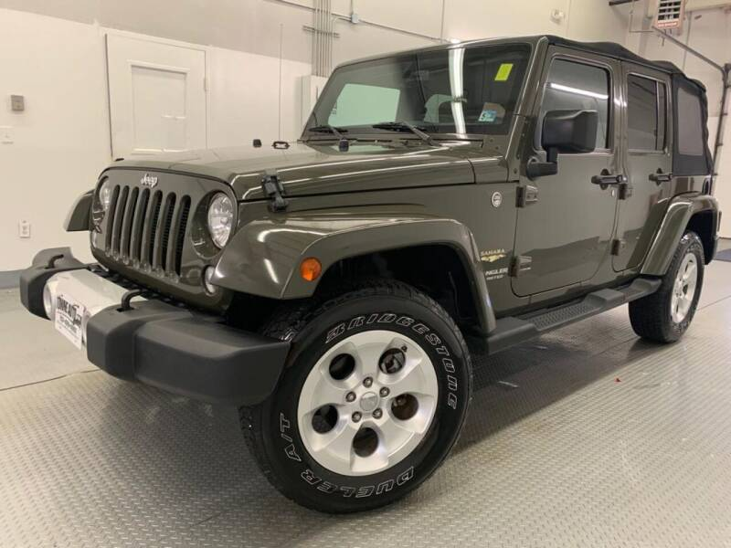 2015 Jeep Wrangler Unlimited for sale at TOWNE AUTO BROKERS in Virginia Beach VA