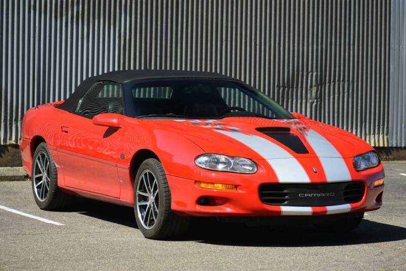 2002 Chevrolet Camaro for sale at Route 40 Classics in Citrus Heights CA