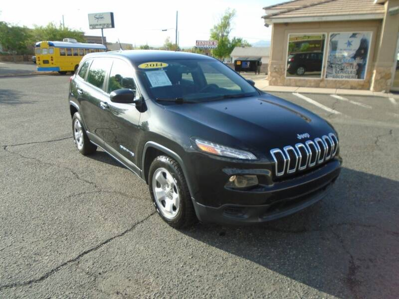 2014 Jeep Cherokee for sale at Team D Auto Sales in St George UT