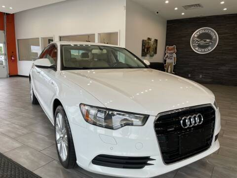 2013 Audi A6 for sale at Evolution Autos in Whiteland IN