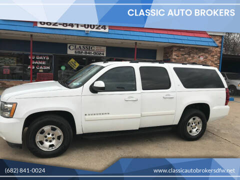2009 Chevrolet Suburban for sale at Classic Auto Brokers in Haltom City TX