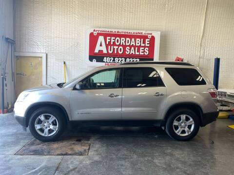 2008 GMC Acadia for sale at Affordable Auto Sales in Humphrey NE