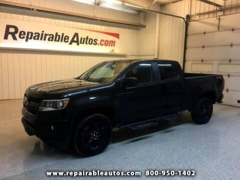 2018 Chevrolet Colorado for sale at Ken's Auto in Strasburg ND
