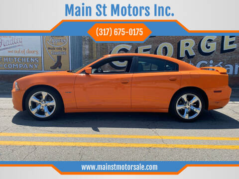 2014 Dodge Charger for sale at Main St Motors Inc. in Sheridan IN