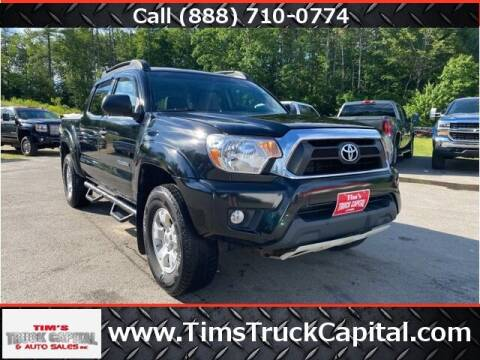 2015 Toyota Tacoma for sale at TTC AUTO OUTLET/TIM'S TRUCK CAPITAL & AUTO SALES INC ANNEX in Epsom NH