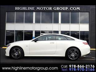 2018 Mercedes-Benz E-Class for sale at Highline Group Motorsports in Lowell MA