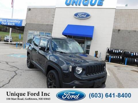 2016 Jeep Renegade for sale at Unique Motors of Chicopee - Unique Ford in Goffstown NH