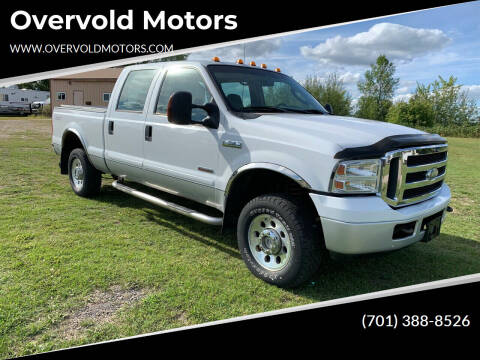2005 Ford F-250 Super Duty for sale at Overvold Motors in Detroit Lakes MN