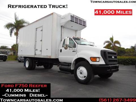 2007 Ford F-750 Super Duty for sale at Town Cars Auto Sales in West Palm Beach FL