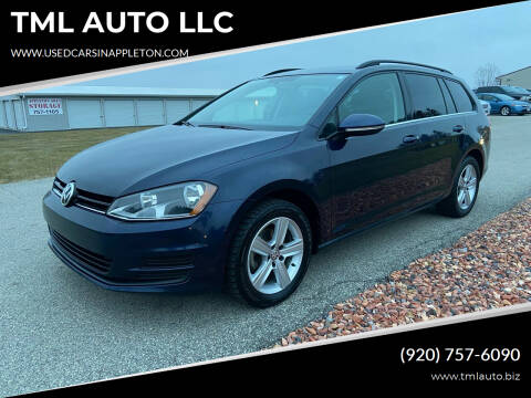 2015 Volkswagen Golf SportWagen for sale at TML AUTO LLC in Appleton WI