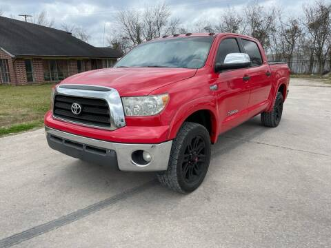 2008 Toyota Tundra for sale at RODRIGUEZ MOTORS CO. in Houston TX