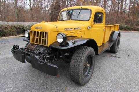 1946 Dodge WDX Power Wagon for sale at AUTO FOCUS in Greensboro NC