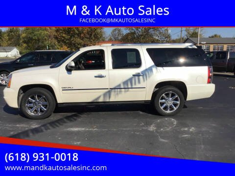 2011 GMC Yukon XL for sale at M & K Auto Sales in Granite City IL