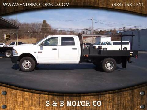 2012 RAM Ram Chassis 3500 for sale at S & B MOTOR CO in Danville VA