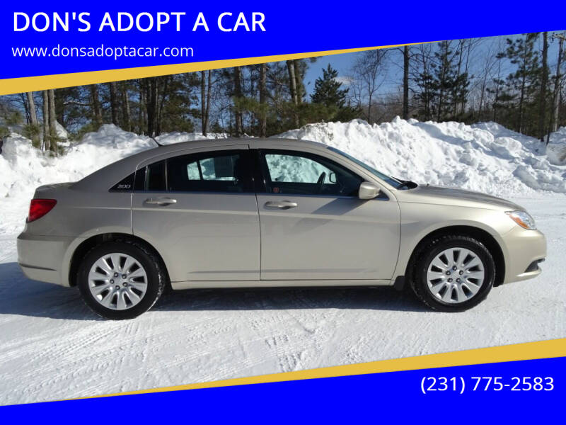 2014 Chrysler 200 for sale at DON'S ADOPT A CAR in Cadillac MI