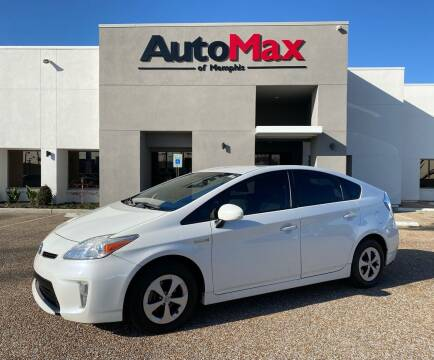 2012 Toyota Prius for sale at AutoMax of Memphis in Memphis TN