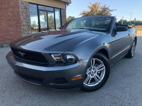 2012 Ford Mustang for sale at Gwinnett Luxury Motors in Buford GA