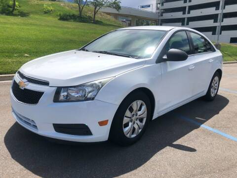 2012 Chevrolet Cruze for sale at DRIVE N BUY AUTO SALES in Ogden UT