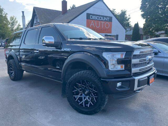 2016 Ford F-150 for sale at Discount Auto Brokers Inc. in Lehi UT