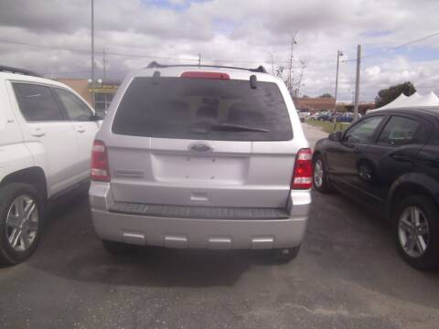 2011 Ford Escape for sale at MITRISIN MOTORS INC in Oskaloosa IA