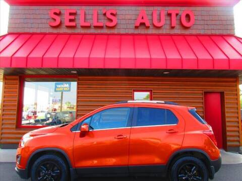2015 Chevrolet Trax for sale at Sells Auto INC in Saint Cloud MN