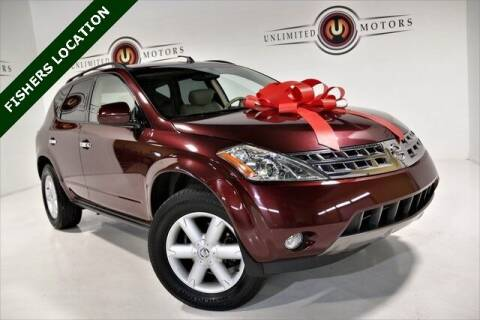 2005 Nissan Murano for sale at Unlimited Motors in Fishers IN